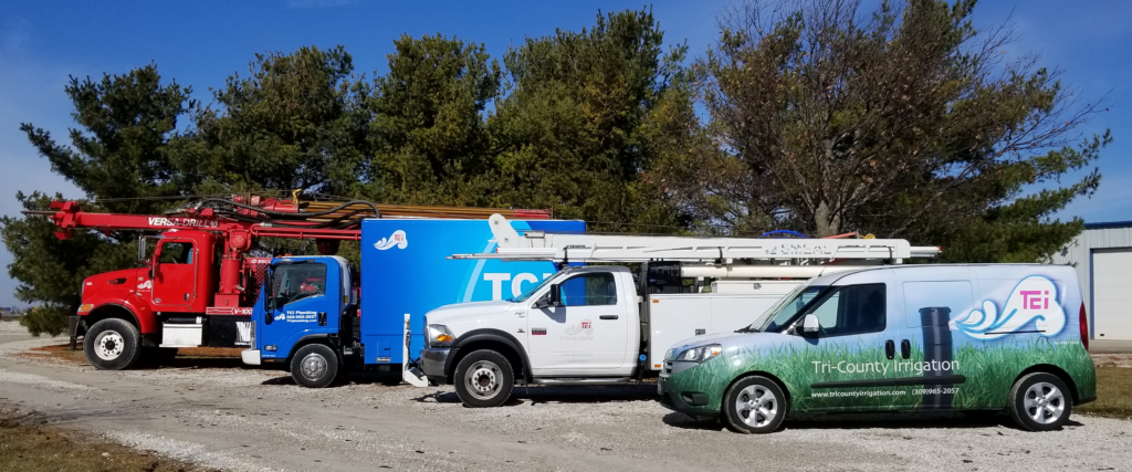 TCI Companies trucks