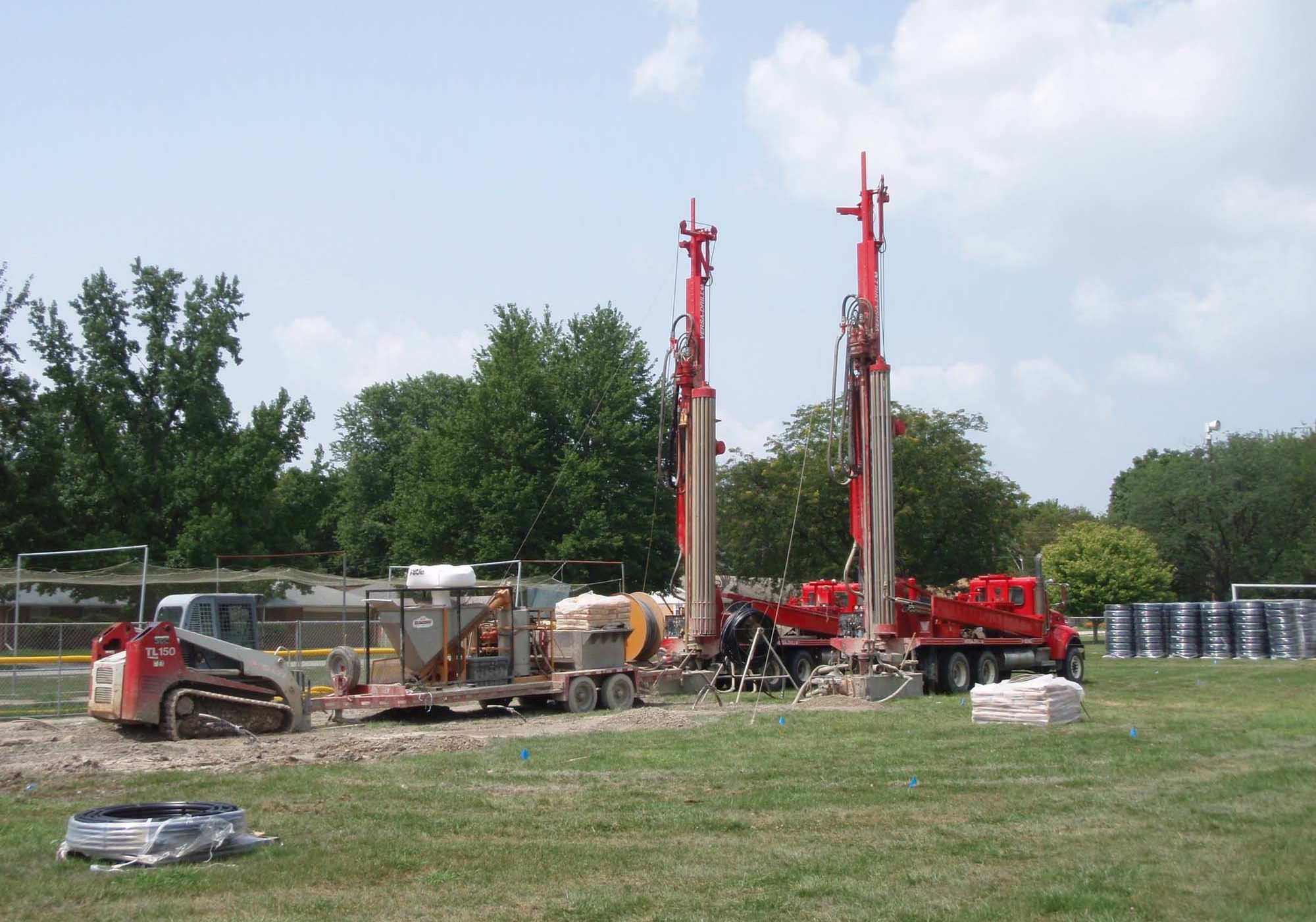 commercial geothermal well drilling